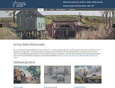 Werkverzeichnis Arthur Eden-Sillenstede