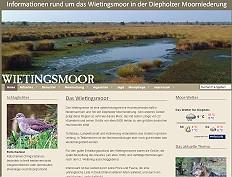 Informationen rund um das Wietingsmoor in der Diepholzer Moorniederung