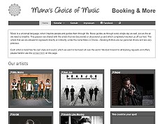 Manu's Choice Of Music - Booking & More