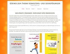 Friedrich Klammrodt - Bücher zum Thema Verhaltens- und Lernstörungen